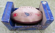 """TITANS""  ""FOOTBALL""  ""LIMITED EDITION 5000""  ""AFC CHAMPIONS 1999"" ORIGINAL"
