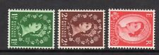 SG517a-519a Tudor Crown S/W Set UNMOUNTED MINT