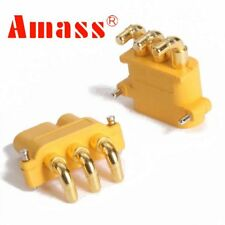Amass MR30PW Stecker Buchse Goldstecker Brushlessmotor Regler ESC Lipo Akku