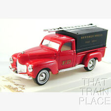 """DODGE POMPIERS   """"BEVERLY HILLS FIRE""""  SOLIDO 4425 1/43 O SCALE On30"""