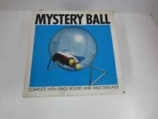 Vintage Tomy /F.E. White Co., Inc MYSTERY BALL w/Space Rocket & Table Displayer