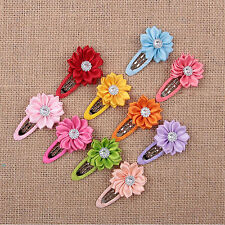 High Fashion Kids Girl Hair Bow Clips Barrette Clips  Hairpins Hair Accessories