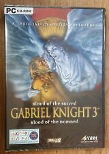 Gabriel Knight 3: Blood of the Sacred, Blood of the Damned (PC CD-ROM) UK IMPORT