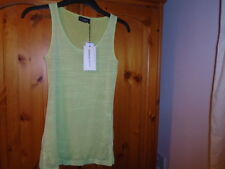 Lime green 2 layer top, JAMES LAKELAND, ITALY, size 10, NEW with TAG, Gift idea