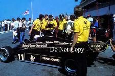 Elio De Angelis Lotus 91 F1 Season 1982 Photograph 2