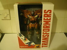 "TRANSFORMERS AGE OF EXTINCTION FLIP & CHANGE 10"" GRIMLOCK NEW SEALED"