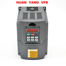 UPDATED 220V 4KW 5HP VARIABLE FREQUENCY DRIVE INVERTER VFD TOP QUALITY