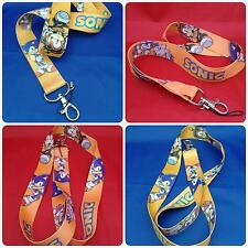Sonic the Hedgehog Lanyard/neck strap - NEW from MrsMario's - FREE P&P