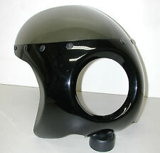 """Motorcycle Black Fly Screen for 6"""" Headlight"""