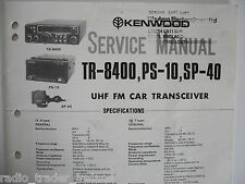 KENWOOD (TRIO) TR-8400 (SERVICE MANUAL ONLY)............RADIO_TRADER_IRELAND.