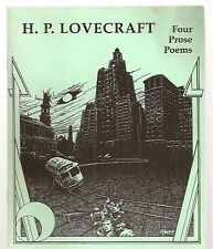 Four Prose Poems  by H.P. Lovecraft and illustrated by Jason Eckhardt