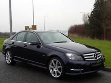 2011 61 MERCEDES-BENZ C CLASS 2.1 C220 CDI BLUEEFFICIENCY SPORT ED125 4D 170 BHP