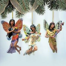 Spirit of the Butterfly Fairy Ornaments issue #11 Native Fairy Bradford Exchange