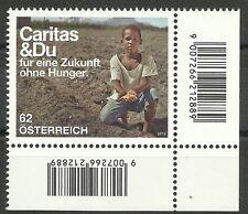 CARITAS/ Österreich MiNr 3004 ** Eckrand rechts unten