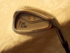 King Kong Oversize 9 Iron with New Head and Warrior Graphite Shaft & Grip.