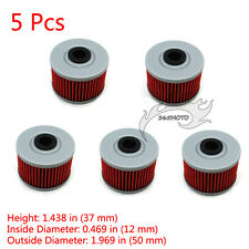 5x Oil Filter For Honda TRX700 XR650R Kawasaki KLX140 KLX125 KL250 KL250 KSR110
