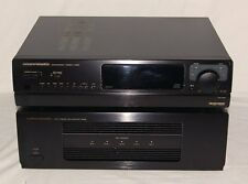 Marantz Entertainment Console EC 500 (CD Tuner Preamp) + Main Ampflifier MM500