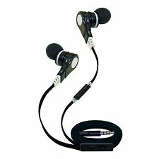 T90S Noise-Reducing Earbud Headphones with Mic (Black)