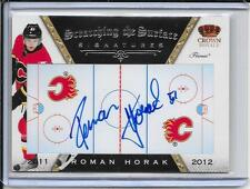 11-12 Crown Royale Roman Horak Scratching The Surface Auto # 60