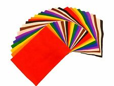 Felt Craft A4 Fabric Sheets 10 Pack Assorted Colours