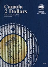 Canada Two Dollars, Starting 1996, No. 1, Whitman Coin Folder