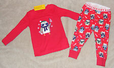 2 PIECE PAJAMAS OLD NAVY * RED PENGUINS FISHING * 2T TODDLER BABY BOYS * NEW NWT