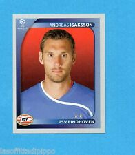 PANINI-CHAMPIONS 2008/2009-Fig.418- ISAKSSON - PSV EINDHOVEN -NEW BLACK