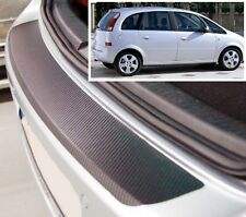 Vauxhall/Opel Meriva MK1 - Carbon Style rear Bumper Protector