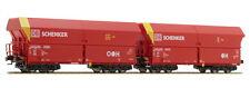 Mehano H0 58869 Zweiteiliges Set Schüttgutwagen Bauart Falns 121 der DB  NEU OVP