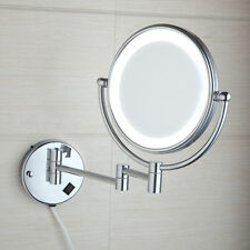 New Wall Mounted Double-Sided Normal Magnifying Light Makeup Cosmetic Mirror