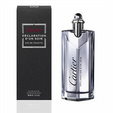 Declaration D'un Soir By Cartier 3.4oz Eau de Toilette Spray NIB Sealed For Men