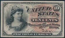 Fr1257 10¢ 4Th Issue Fractional Currency Watermarked Paper Cu Br5588