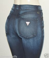 GUESS Women's 1981 High-Rise Skinny Jeans in Cashville Wash sz 23