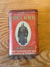Prince Albert Crimp Cut Cigarette Tobacco Tin Antique