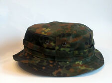 RECCE Hat  Boonie     Flecktarn German Camo  - Made in Germany -