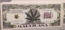 WHOLESALE LOT 100 MEDICAL MARIJUANA POT 420 MONEY BILL cannabis weed hemp USA us