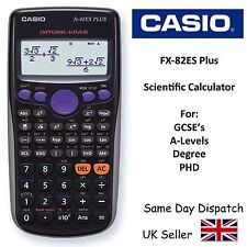 CASIO FX82ES Advanced Scientific Calculator for A-Level & Gcse's -2 LINE DISPLAY
