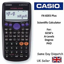 Casio FX82ES advanced calculatrice scientifique pour & A-Levels la ligne -2 GCSE display