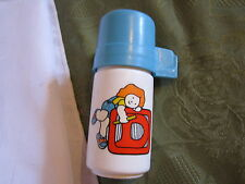 Fisher Price Fun with Food Lunch Thermos Blue Lid Replacement Part Piece Toy 638
