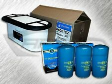 7.3L TURBO DIESEL HEAVY DUTY OVAL AIR FILTER AND 3 OIL FILTERS KIT FOR FORD