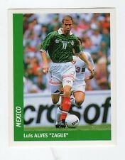 figurina DS CALCIATORI WORLD CUP FRANCE 98 NUMERO 236 MESSICO ZAGUE