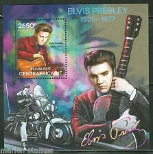 CENTRAL AFRICA  2014 ELVIS PRESLEY SOUVENIR SHEET MINT NH