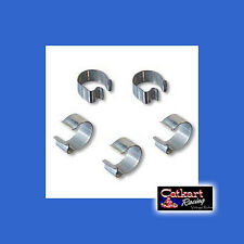 FREE SHIPPING! CLAMPS 5 PACK VINTAGE CLIPS MINIBIKE TACO GO KART