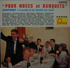 "DUPONT ""POUR NOCES ET BANQUETS"" FUN COVER CHEESECAKE 25 cm FRENCH LP"
