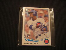 2013 TOPPS UPDATE CHICAGO CUBS TEAM SET 14 CARDS  JUNIOR LAKE ROOKIE +