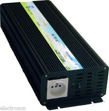 Convertisseur pure sinus 1500W 12VDC 220VAC solaire éolien