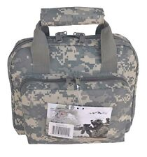 "11"" ACU Digital Army Camo Padded Bag Range Pistol Gun Hunting Lockable"