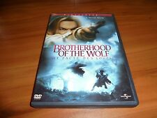The Brotherhood of the Wolf (DVD, Widescreen 2002)  Mark Dacascos Used OOP