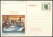 Germany 1990's 30pf Arkona Ship Stationery Card Unused #C34883