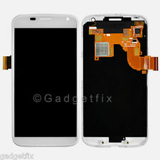White Motorola Moto X XT1060 XT1058 LCD Touch Screen Digitizer Assembly + Frame